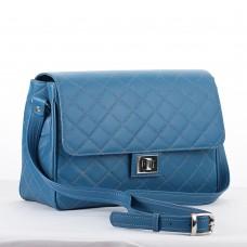 GEANTA PIELE LILI Bleu Box