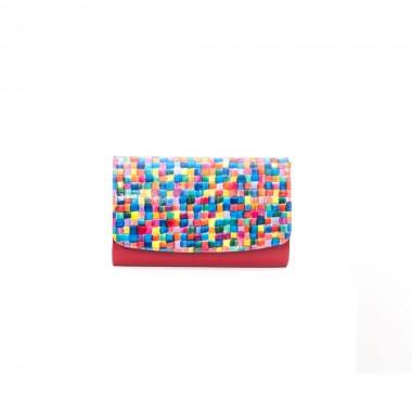 PLIC PIELE CLASIC Mozaic Rosu
